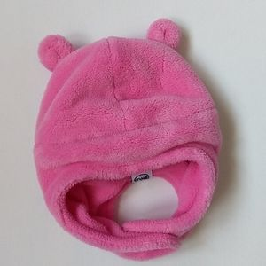 Baby Pink Winter Hat * Size 0-6 months